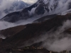 View from Muktinath after the snow storm.
