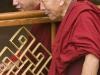 Monks intently watching a debate at Namgyal Gompa, Tsuglagkhang Complex, McLeod Ganj, Dharamsala.
