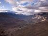 View back towards Panikhar from the ridge between Panikhar & Parkachik