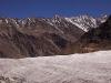 View of Parkachik Glacier