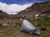 My 3rd camp in a meadow on the way to Nun base camp