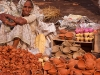 Markets of Old Delhi on the morning of Diwali