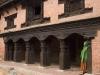 Courtyard in Durbar Square, Patan.
