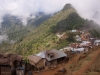 Village between Sangau and Phawngpui