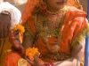 "Elaborately dressed woman after the ""Spiritual Walk,"" Pushkar Camel Fair."