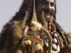 "Man dressed as (I guessing) Shiva after the ""Spiritual Walk,"" Pushkar Camel Fair."