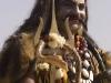 "Man dressed as (I guessing) Shiva after the ""Spiritual Walk,"" Pushkar Camel Fair."