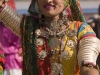 "Dancer at the closing ceremonies (yes, she was in the ""Spiritual Walk"" as well) of Pushkar Camel Fair."