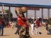 Water pot race at closing ceremonies of Pushkar Camel Fair.