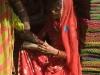 Woman shopping, Pushkar.