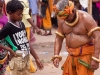 Boy looks unimpressed, Rath Yatra, Puri
