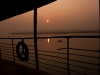 Sunrise aboard the colonial era Rocket from Dhaka to Khulna
