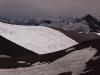 View from the summit of the 5999 m peak