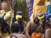 Pilgrims at Sabarimala.