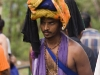 Pilgrim at Sabarimala.