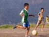Kids playing football (soccer), Saiha