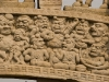 Detail, Northern Gate, Great Stupa, Sanchi.