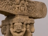 Detail, Western Gate, Great Stupa, Sanchi.