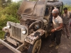 Our stellar WWII era jeep transportation to Shianghawamsa experiencing some technical difficulties
