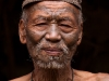 Konyak man with traditional tattoos, Shianghawamsa, Nagaland