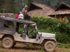 Jeep transport back to Mon, Shianghawamsa, Nagaland