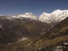 View from near Dzongri, on the trek to Goecha La.