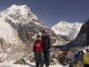 Me and my guide Bhim at Goecha La (4950 m, 16,335 ft).