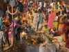 Temple festival associated with fertility, outskirts of Bundi.