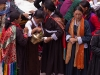 Crowd at chairing ceremony of the new Rimpoche at Spituk Monastery.
