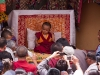 New Rimpoche at his chairing ceremony, Spituk Monastery.