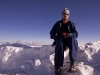 Jeff on the summit of 6153 m (20,180 ft) Stok Kangri