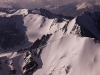 View from the summit of 6153 m (20,180 ft) Stok Kangri