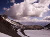 View while climbing down, Stok Kangri
