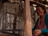 Woman weaving in a village near Tawang