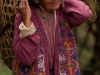 Woman in traditional dress village near Tawang