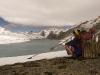 Resting porter Tilicho Lake.