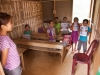 Classroom in the school in a Chakma village near Tlabung