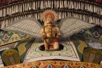 Detail on temple cart, Udupi.