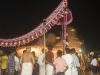 Fireworks during chariot procession, Udupi.