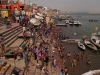 Cleaning off after Holi, Varanasi
