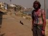 Me after Holi, Varanasi