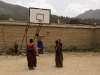 Monks I played basketball with at Labrang monastery, Xiahe.