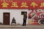 Street scene in Zhangye