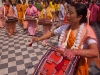 Devotees dancing at Sri Govindaji Temple for Yaoshang, Imphal