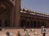 Friday prayer in the Jami Masjid (Mosque) at Fatehpur Sikri.