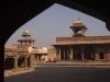 Palace buildings at Fatehpur Sikri.