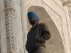 A Sikh man visiting the Taj Mahal, Agra.