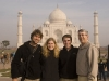 Myself, my sister (Karin), brother in law (Jeff), and father, at the Taj.  The end of our mini family reunion (minus my mom) fittingly enough at the Taj Mahal.  From here I would take Karin and Jeff back to Delhi for there flight home before meeting up with my dad again in Jaipur.