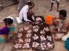 Selling fish on the beach, Agonda Beach, Goa