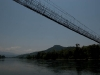 Local style suspension bridge, Kabu, near Along.